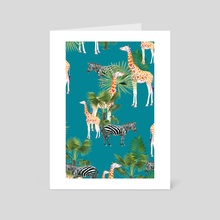 Africa - Art Card by 83 Oranges