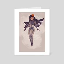 Catrina  - Art Card by Isar Emmanuel Díaz Rojas