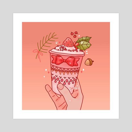 Strawberry smoothie  by Hyemin Yoo