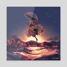 One day, I'll show you, I promise - Acrylic by Angel Elisha