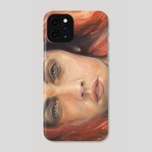 Van Gogh's Daughter - Phone Case by D. Ahsén:nase Douglas