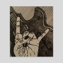 Rock On  - Canvas by Lauren Scott
