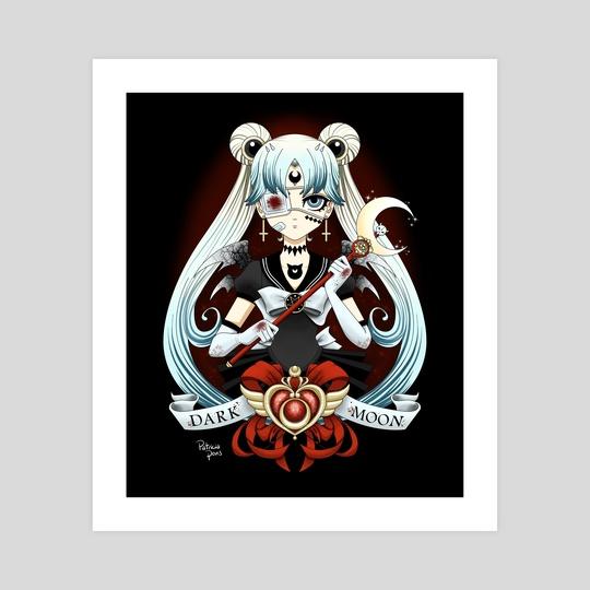 Dark Sailor Moon by Patricia Pons