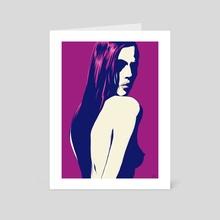 Portrait 4 - Art Card by Giuseppe Cristiano