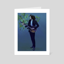 Hozier - Art Card by Beverly Johnson