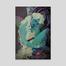 Iron Sickness - Acrylic by Lily Grasso