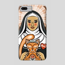 St. Gertrude - Phone Case by Anuradha Grover