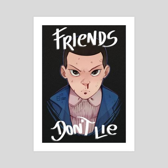 Friends Don't Lie by Paulo Gazola