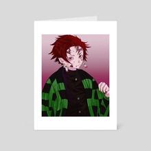 tanjirou - Art Card by YuneKimio