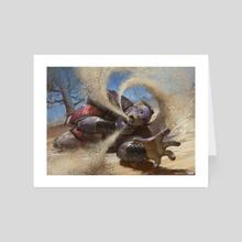 Ancestral Vengeance - MTG Fat Reforged print - Art Card by Yohann Schepacz