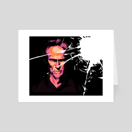 Clint Eastwood by Terrence Vanatta