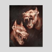 Hounds - Canvas by Dagseii