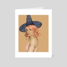 Witch - Art Card by Stu Chapman