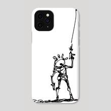 Uzi Goblin! - Phone Case by Shelby Ulibarri