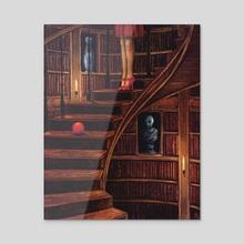 The ball - Acrylic by Michaël Brack