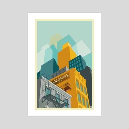 Tribeca New York City by Remko Gap Heemskerk