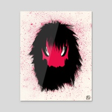 Monster (head) of the day (October 21) [Year 1] - Acrylic by Royal Glamsters