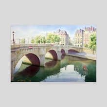 Paris, Pont neuf - Canvas by Jean-Sylvain Lapouge