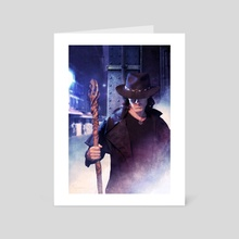 The Dresden Files: Brief Cases - Art Card by chris mcgrath