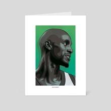 Kevin Garnett - Art Card by Sebastian