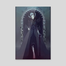 Raven Queen - Acrylic by Maliveth (Victoria)