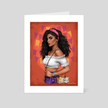 Esmeralda - Art Card by Fernanda Suarez