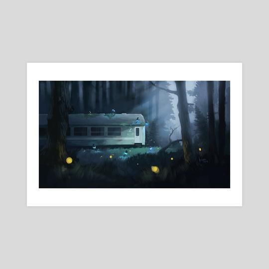 Night Train by Marcin Wolski