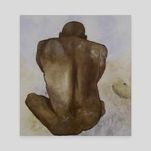 Earth Form - Canvas by Delyse Ledgard
