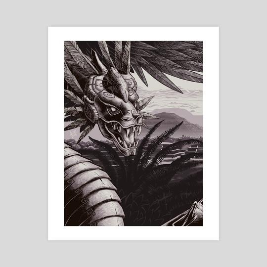 Quetzalcoatl by Franco Luna