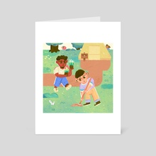 New Horizons - Art Card by Erick M. Ramos