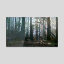 Wild Grove  - Acrylic by Joseph Feely