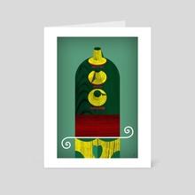 Skull Fader - Art Card by Dirk Oberländer