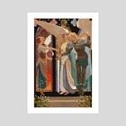 St. Joan of Arc - Art Print by awanqi