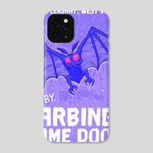 Mothman of Point Pleasant  - Phone Case by Jonathan Dodd