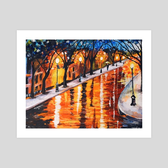 Rainy Night by Kaelee Helms