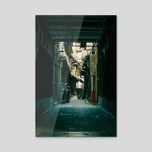 Street I - Acrylic by Petalo Pelnar
