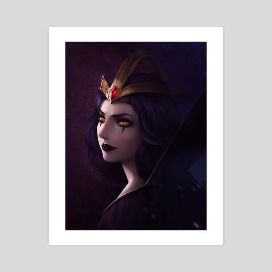 LeBlanc - League of Legends by Domina ART