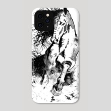 Savage Horse - Phone Case by Emanuele Califano Lidak