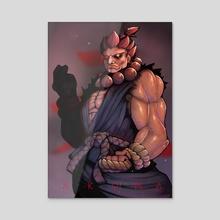 Akuma - Acrylic by Seth Hart