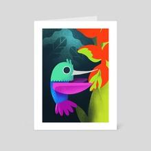 Hummingbird - Art Card by Rod Perich