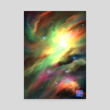 NGC 2264 - Christmas Tree Cluster - Canvas by anhei 「安平」