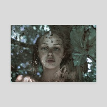(Runa) THROUGH THE GLASS - Canvas by Marta Bevacqua