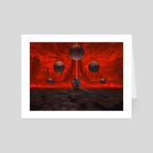 Doomsday - Art Card by Noah Bradley