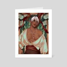 Indulge Me - Art Card by Danté Pascual