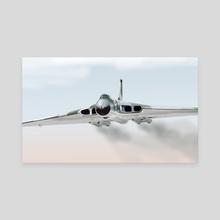 Avro Vulcan B2 Bomber - Canvas by MIKE TURTON