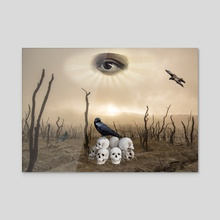 THE EYE - Acrylic by Gloria Sánchez