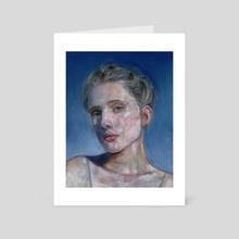 Soft Eyes - Art Card by Kate Blagodatskikh