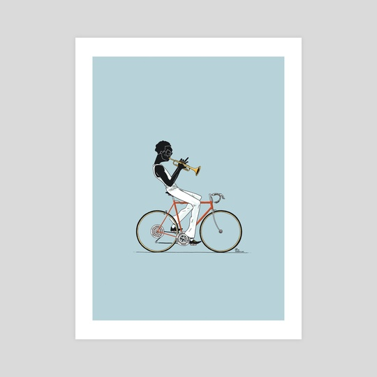 MILES BY BICYCLE by Dustin Harbin