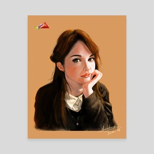 Portrait - Canvas by Arijit Sarkar