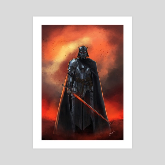 Olde Republic: Dark Lord Vader by Jake Bartok